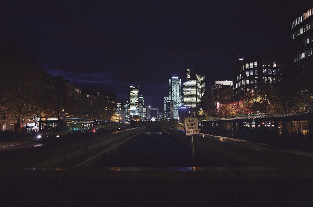 Neuilly-sur-Seine la nuit