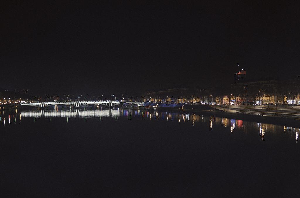 La nuit à Lyon