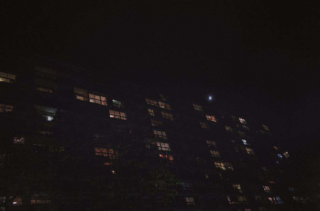 Les immeubles rue de Meaux